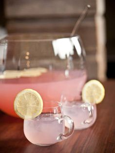 Grown up rum punch