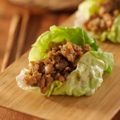 Asian Chicken Lettuce Wraps Recipe! just like from your favorite asian restaurant.