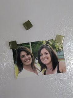 make magnets from the awesome tiles at Lowe's