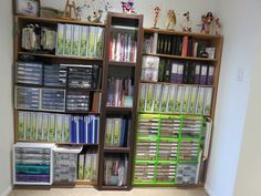 Craft room- great organization in a small space