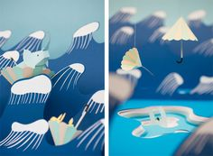 paper illustrations by Fideli Sundqvist