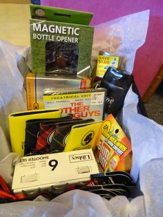 raffle basket ideas for men