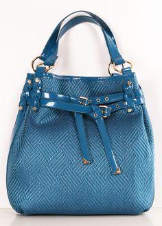 Francesco Biasia Dark Turquoise Woven Raffia  Patent leather Shoulder bag find more mens fashion on www.misspool.com