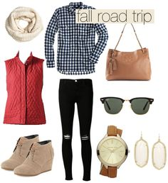 Fall Road Trip Outfit