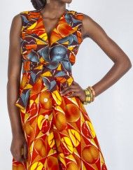 Limited Edition by Ajepomaa Designs  #Moonlook #AfricanFashion #MixMatch