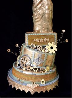 Steam Punk Cake..