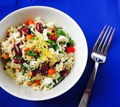 #Cookclub recipe #18 is Mediterranean Rice Salad.