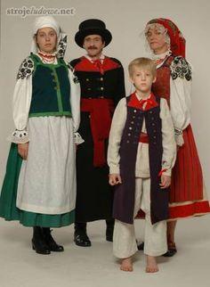 Polskie stroje ludowe, Stroje wilanowskie/ Polish Folk Costumes from Wilanow Region (West Mazovia)