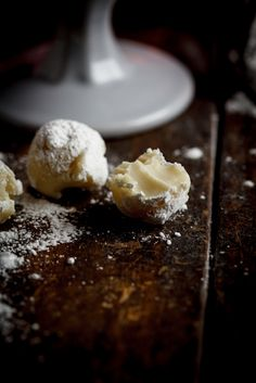 White Chocolate Cigar truffles