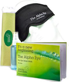 GLOtoSLEEP sleep mask, announced long-needed relief for dry eye sufferers, with the availability of The Alpha Eye, Dry Eye Mask, a hydrating eye mask for those with dry eye.