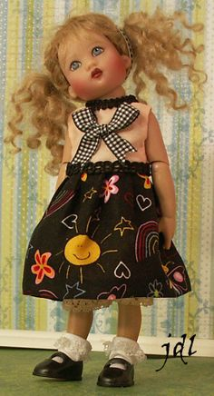 """7.5"""" Riley Kish by JDL Doll Clothes"""