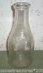 Our milk came in glass bottles with colorful foil lids...this is a vintage bottle from the Maplehurst Dairy, Indianapolis, Indiana.  The cream was on the top and had to be shaken into the milk or could be removed for coffee or cooking purposes.