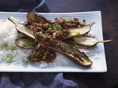 Skip takeout and make this Spicy Sichuan Pork #Eggplant #Chopped