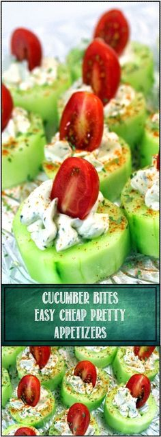 Cucumber Bites with