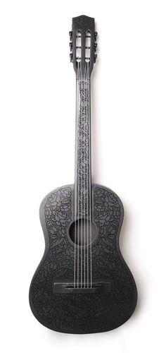 Beautiful engravings, #guitar