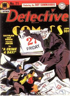 DETECTIVE COMICS #71. DC, 1937 Series. Source: http://www.comics.org/issue/2679/