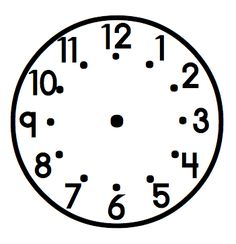... & time on Pinterest | Telling Time, Teaching Time and Clock Faces