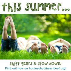 Summertime is every school kid's favorite time of the year! This week on Home School Heartbeat, Mike Smith shares thoughts on how to reclaim your summer from the frenetic pace of the school year and enjoy it to the fullest with your family! #Summer