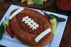 Chili in a bread bowl! #UltimateTailgate #Fanatics