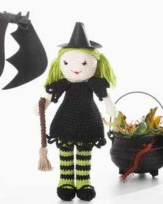 Witch Lily  - free crochet pattern