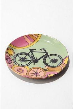 bicycle dish.
