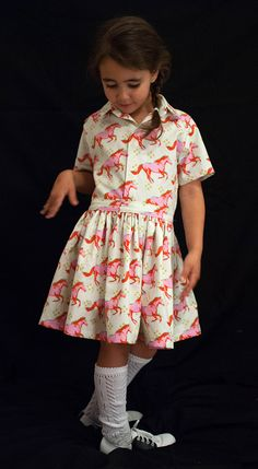 friday dress // petit a petit and family