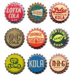 bottle caps, vintage bottles, soda bottles, soda pop, vintage soda, vintag soda, bottl cap, old bottles, thing
