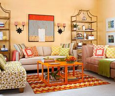 What does your living room need? Click through for more of our best tips on making your space here: http://www.bhg.com/rooms/living-room/room-arranging/living-room-designs/?socsrc=bhgpin081814anticipateyourneeds&page=3