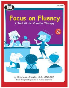 Focus on Fluency-tool kit created by an SLP that contains multiple resources for fluency/stuttering. Product Review from Speech Room News. Pinned by SOS Inc. Resources @sostherapy.
