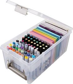 Art Bin - Marker Storage Satchel at Scrapbook.com