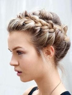Braids are always a classic go-to look that flatters anyone!