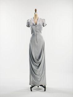 Evening Dress, Elsa Schiaparelli, ca. fall 1939