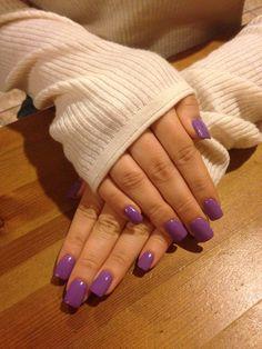 Lavender Nails!