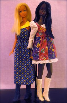 Malibu Christie and Malibu Barbie