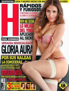 Gloria Aura En La Revista H Julio 2013   FamosasMex