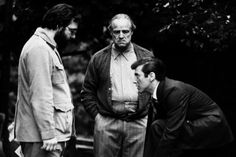 Little known fact: the succession scene needed a major rewrite. In Mario Puzo's novel, there is no resolution between Vito Corleone and his son Michael. But Coppola wanted to convey that they loved each other. So Coppola called on his friend Robert Towne, a renowned screenwriter, as a script doctor to fix it.