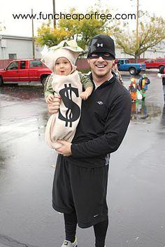 Super cute kid/daddy halloween costumes