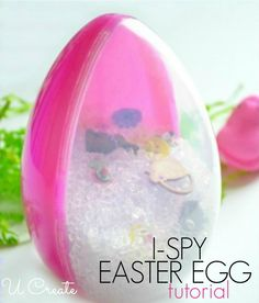 I-Spy Easter Egg Tutorial - great for Easter baskets!