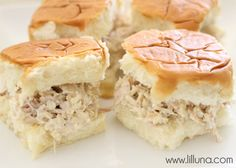 Rice-a-Roni Chicken Salad Sandwiches - easy, yummy and the whole fam likes them! Always need more recipes like this one!