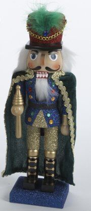 Soldier with Cape Wooden Christmas Nutcracker