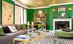 Decorating with Jewel-Tone Colors | Emerald