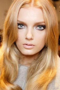 CHIC BLONDE | Best Makeup Tips for Blondes  http://www.fashionspassion.com/beauty-hair/best-makeup-tips-for-blondes/