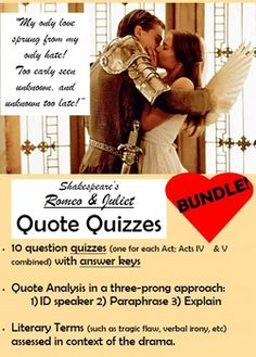 a literary analysis of the tragedy of romeo and juliet by william shakespeare Romeo and juliet: literary analysis by  romeo and juliet by william shakespeare  their indifference to the tragedy that has just occurred.