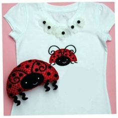 In The Hoop :: Softie Toys :: Ladybug Softies - Embroidery Garden In the Hoop Machine Embroidery Designs