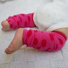 Baby leg warmers never get old $8 on etsy. I have a pair from another company and love them! Stuff in diaper bag