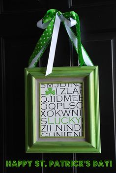 Quick and Easy St. Patrick's Day Craft