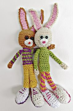 Dani and Bel: Just in time for Easter