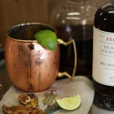 "Made famous in the forties as the official vessel the Moscow Mule, these copper mugs have been turning heads for decades, begging the question, ""What's he having?"" These handsome mugs are the perfect addition to any bar and will impress your guests while keeping their cocktails chilled to perfection. Just in case you need a recipe, squeeze a lime wedge into the mug, add ice, vodka for a mule (or bourbon for a classic Southerner's bourbon and ginger) and ginger beer."