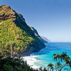 Napali Coast on the island of Kauai; coastalliving.com