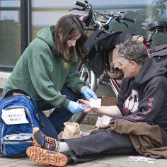 Street nurses help the homeless survive.
